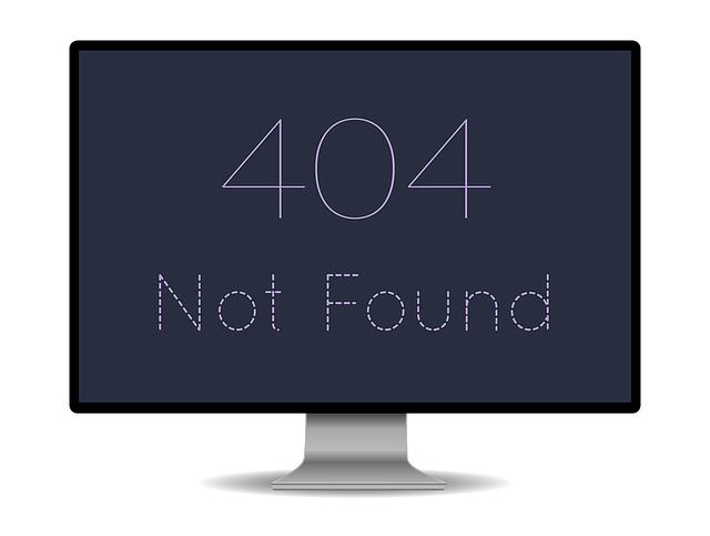 404 Website Error